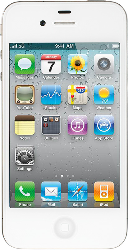 Apple iPhone 4 8Gb (белый)